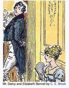 Mr  Darcy and Elizabeth Bennet