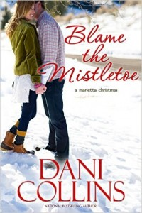 dani collins blame the mistletoe