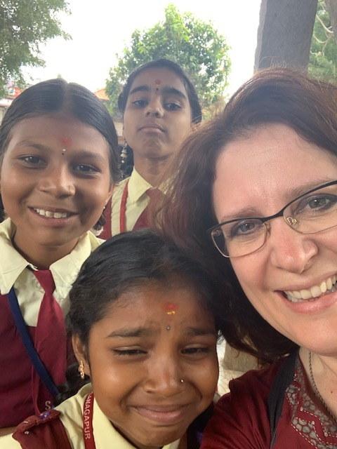 [photo: Anastasia in India]