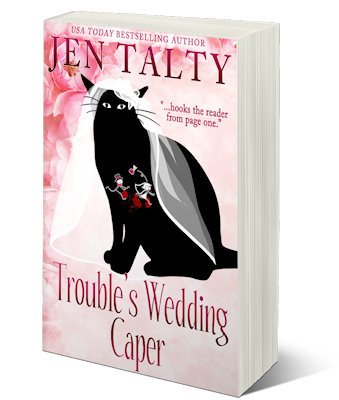 [cover: Trouble's Wedding Caper]