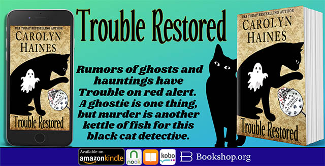 Rumors of ghosts and hauntings have Trouble on red alert...