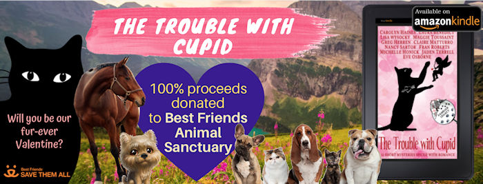 [Banner: Trouble With Cupid]