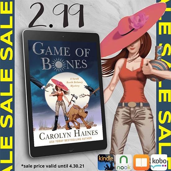 On Sale through 4.30.21 - Game of Bones