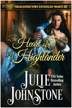 [cover: The Heart of a Highlander]