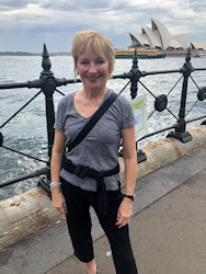 [photo: Kate near Opera House]