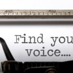 LET'S TALK ABOUT…FINDING YOUR VOICE
